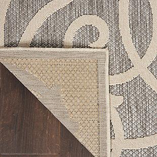 Nourison Cozumel 5' X 7' Area Rug, Gray, large