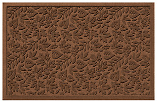 "Home Accents Aqua Shield 1'11"" x 3' Fall Day Indoor/Outdoor Doormat, Brown, large"