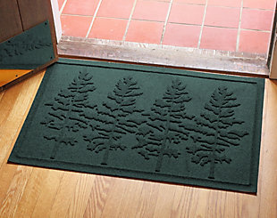 Home Accents 2' x 3' Fir Forest Indoor/Outdoor Doormat, Evergreen, rollover