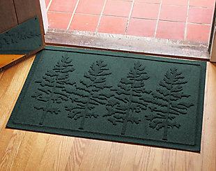 Home Accents 2' x 3' Fir Forest Indoor/Outdoor Doormat, Evergreen, rollover