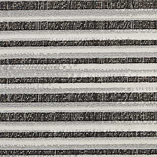 Nourison Key Largo 8' X 10' Dark Gray Area Rug, Dark Gray, large
