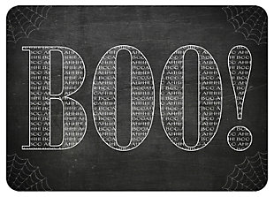 "Home Accents 1'11"" x 3' True Boo Doormat, , large"
