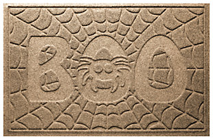 Home Accents 2' x 3' Boo Spider Indoor/Outdoor Doormat, , large