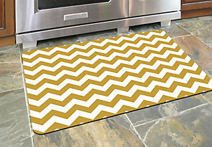 "Home Accents 1'10"" x 2'7"" Chevron Doormat, , rollover"