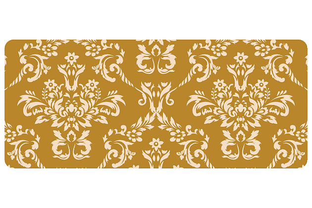 "Home Accents Damask 1'10"" x 4'4"" Runner, , large"