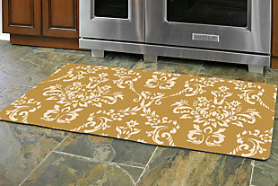 "Home Accents Damask 1'10"" x 4'4"" Runner, , rollover"