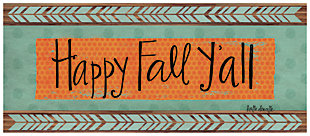 "Home Accents 2'1"" x 5' Happy Fall Y'all Doormat, , large"
