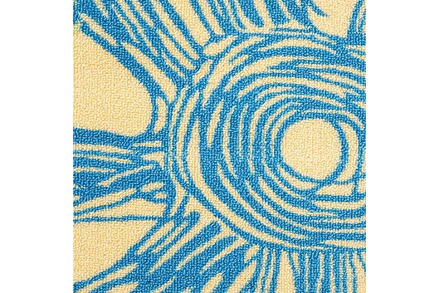 Nourison Home & Garden Blue 8' X 11' Rug, Blue, large