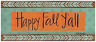 "Home Accents 2'1"" x 5' Happy Fall Y'all Doormat, , rollover"