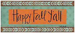 """Home Accents 2'1"""" x 5' Happy Fall Y'all Doormat, , large"""