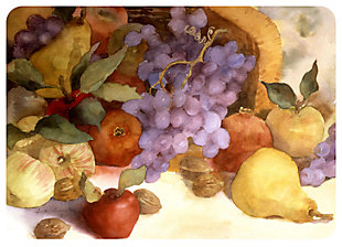 "Home Accents 1'10"" x 2'7"" Fall Fruit Doormat, , large"