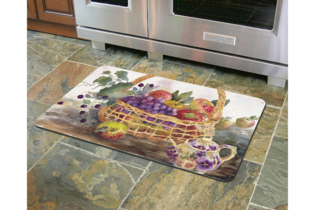 "Home Accents 1'10"" x 2'7"" Dee's Harvest Doormat, , large"