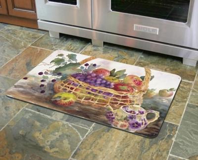 """Home Accents 1'10"""" x 2'7"""" Dee's Harvest Doormat, , large"""
