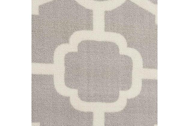 Nourison Waverly Sun N' Shade Gray 8'x11' Rug, Grey, large