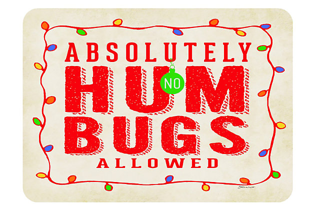 "Home Accents 1'10"" x 2'7"" Humbugs Doormat, , large"