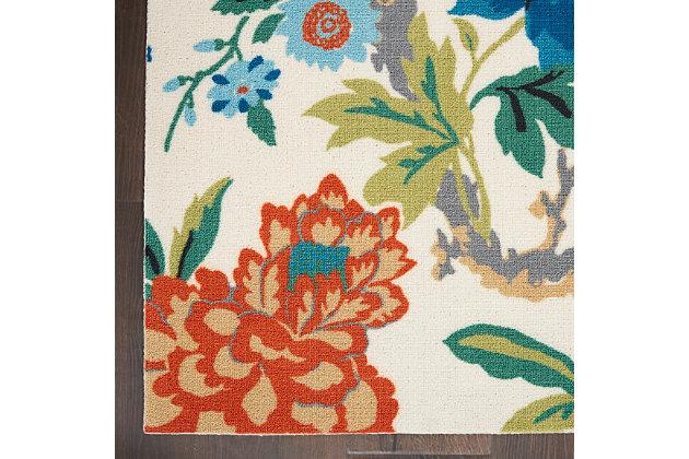 Nourison Waverly Sun N' Shade 5' X 8' Area Rug, Ivory/Multi, large