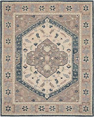 Nourison Bahari 8' x 10' Area Rug, Gray, large