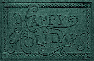 Home Accents 2' x 3' Happy Holidays Indoor/Outdoor Doormat, , large
