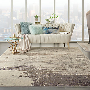 Nourison Celestial 8' x 11' Area Rug, Ivory/Gray, rollover