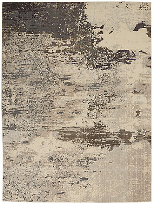 Nourison Celestial 8' x 11' Area Rug, Ivory/Gray, large