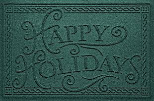 Home Accents 2' x 3' Happy Holidays Indoor/Outdoor Doormat, , large