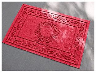 Home Accents 2' x 3' Wreath Indoor/Outdoor Doormat, , large