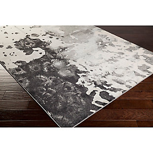 "Home Accents Aberdine 5' 2"" x 7' 6"" Area Rug, Black, rollover"