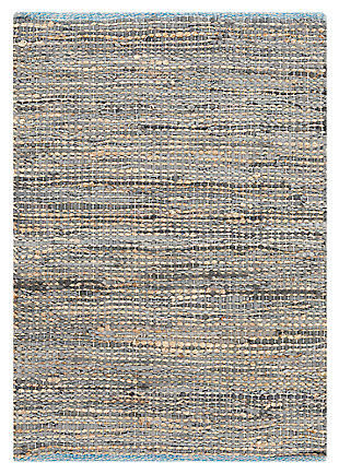 Home Accents Adobe 2' x 3' Area Rug, Gray, large