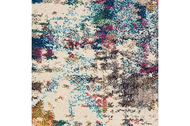 Nourison Celestial Multicolor 8'x11' Oversized Rug, Pink/Multi, large