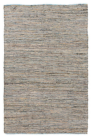 Home Accents Adobe 5' x 8' Area Rug, Gray, rollover