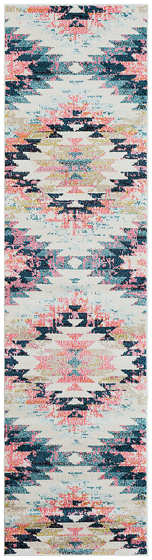 """Home Accents Anika 2' 7"""" x 10' 3"""" Runner, , large"""