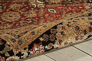 Nourison Delano Multicolor 5'x7' Area Rug, Multi, large