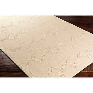 Home Accents Ashlee 2' x 3' Area Rug, Khaki, rollover