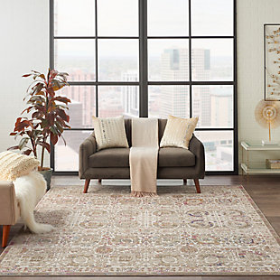 Nourison Melody 8' x 10' Area Rug, Ivory/Multi, rollover