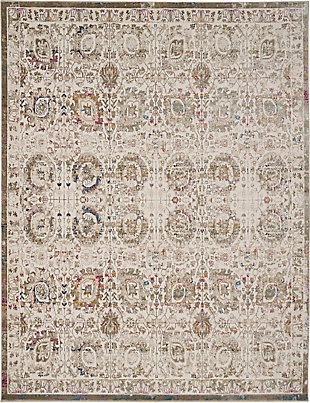 Nourison Melody 8' x 10' Area Rug, Ivory/Multi, large