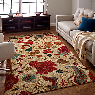 Mohawk Tropical Acres 5' x 7' Area Rug, Multi, rollover