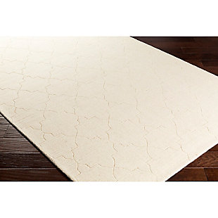 "Home Accents Ashlee 5' x 7' 6"" Area Rug, Cream, rollover"