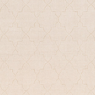 "Home Accents Ashlee 5' x 7' 6"" Area Rug, Cream, large"