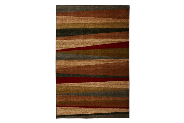 Mohawk Mayan Sunset Sierra 5' x 8' Area Rug, Multi, large