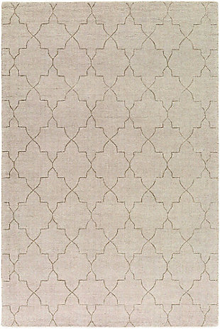 Home Accents 8' x 10' Rug, Beige, large