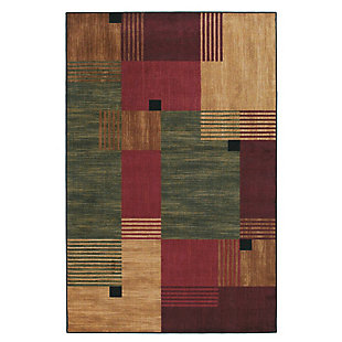 Mohawk Alliance Multi 5' x 8' Area Rug, Multi, large