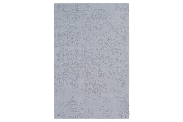 Home Accents Ashlee 2' x 3' Area Rug, Taupe, large