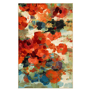Mohawk Colorful Garden Multi 5' x 8' Area Rug, Multi, large