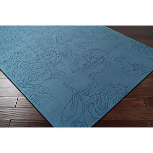 "Home Accents Ashlee 5' x 7' 6"" Area Rug, Denim, rollover"