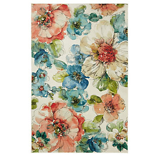 Mohawk Summer Bloom Garden 5' x 8' Area Rug, Multi, large
