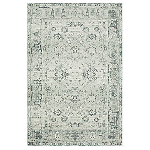 Mohawk Henrietta Grey 5' x 8' Area Rug, Gray, large