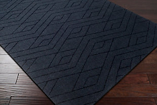 Home Accents Ashlee 2' x 3' Area Rug, Navy, rollover