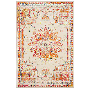 Mohawk Empearal Red 5' x 8' Area Rug, Red, large