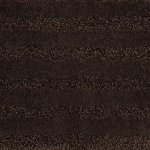 "Mohawk Basic Stripe Bath Rug Oxford Tan (2'x3' 4""), Brown/Beige, large"
