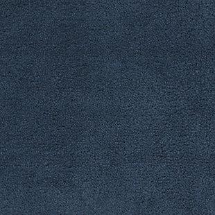 "Mohawk Cascade Bath Rug Slate (1' 8""x2' 6""), Black/Gray, large"